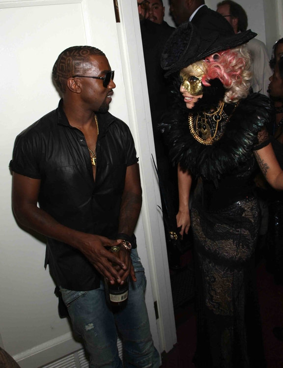 KAYNE WEST and LADY GAGA