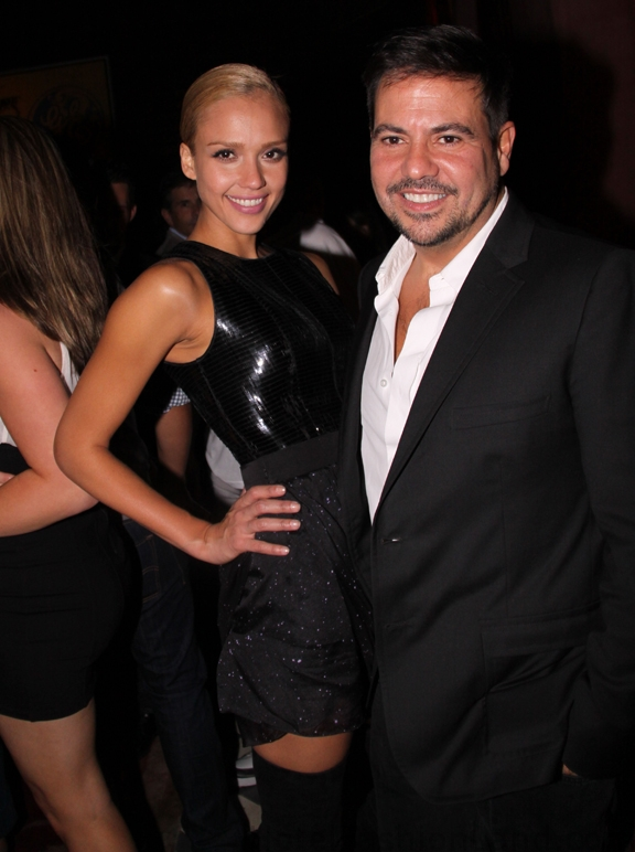 Jessica Alba and Narcisso Rodriguez
