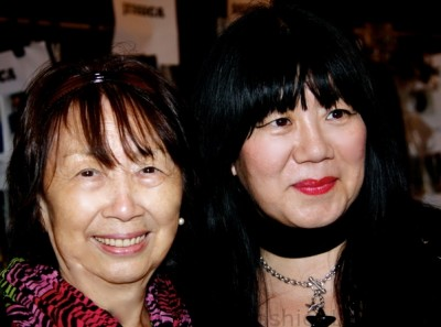 anna sui and mother