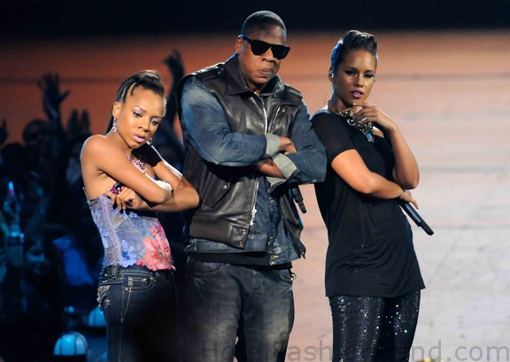 LIL MAMA JAY Z and ALICIA KEYS