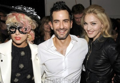 marc jacobs, lady gaga and madonna