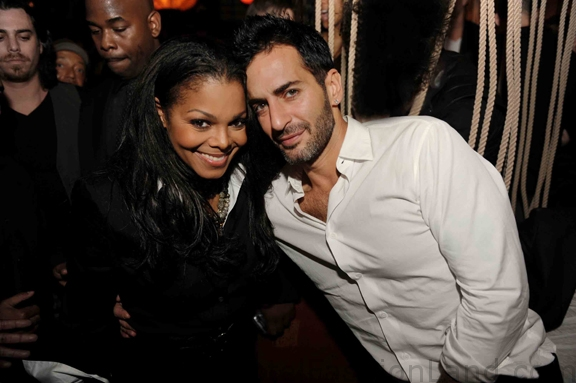 Janet Jackson AND Marc Jacobs