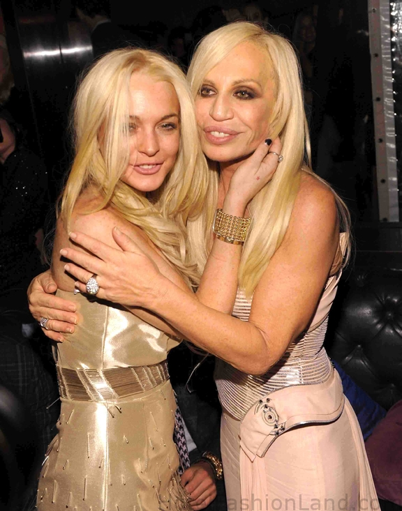 LOHAN and VERSACE
