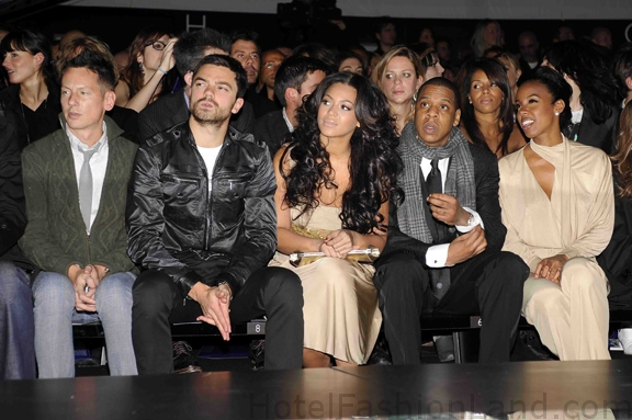 Jim Nelson, Dominic Cooper, Beyonce Knowles, Jay-Z, and Kelly Rowland