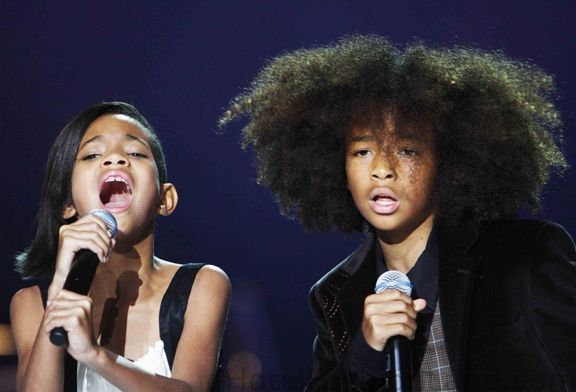 WILLOW AND JADEN PERFORMING IN NORWAY