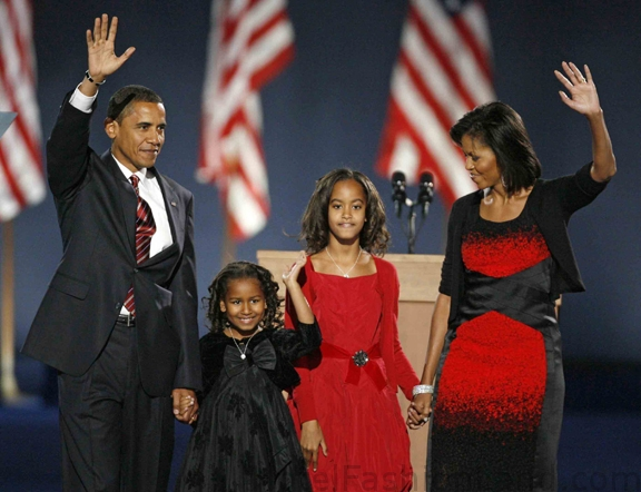 BARACK AND FAMILY