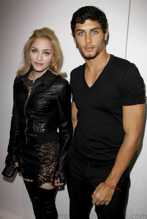 Madonna and Jesuz Luz attending Marc Jacobs