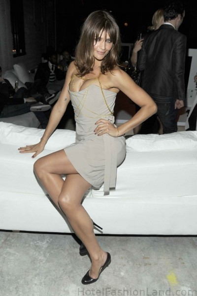 Helena Christensen at the CK afterparty