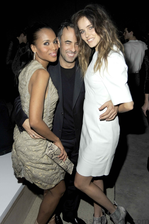 Kerry Washington, Francisco Costa, Isabel Lucas at the CK afterparty