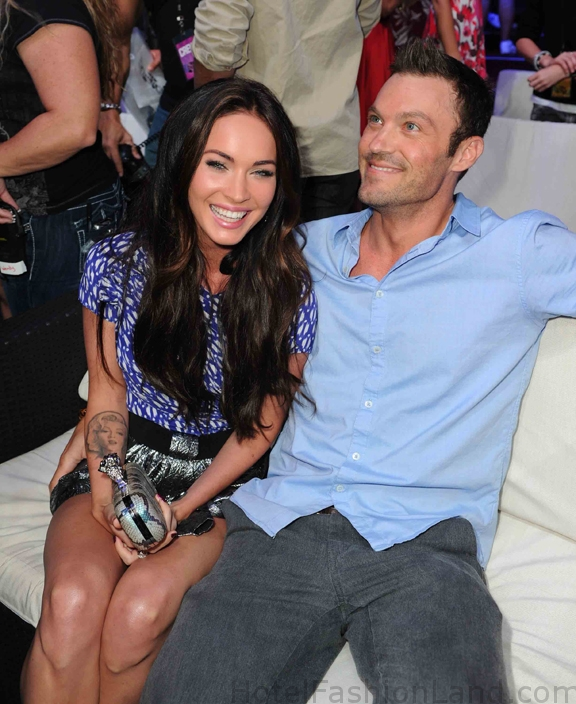 Megan and Brian Austin Green