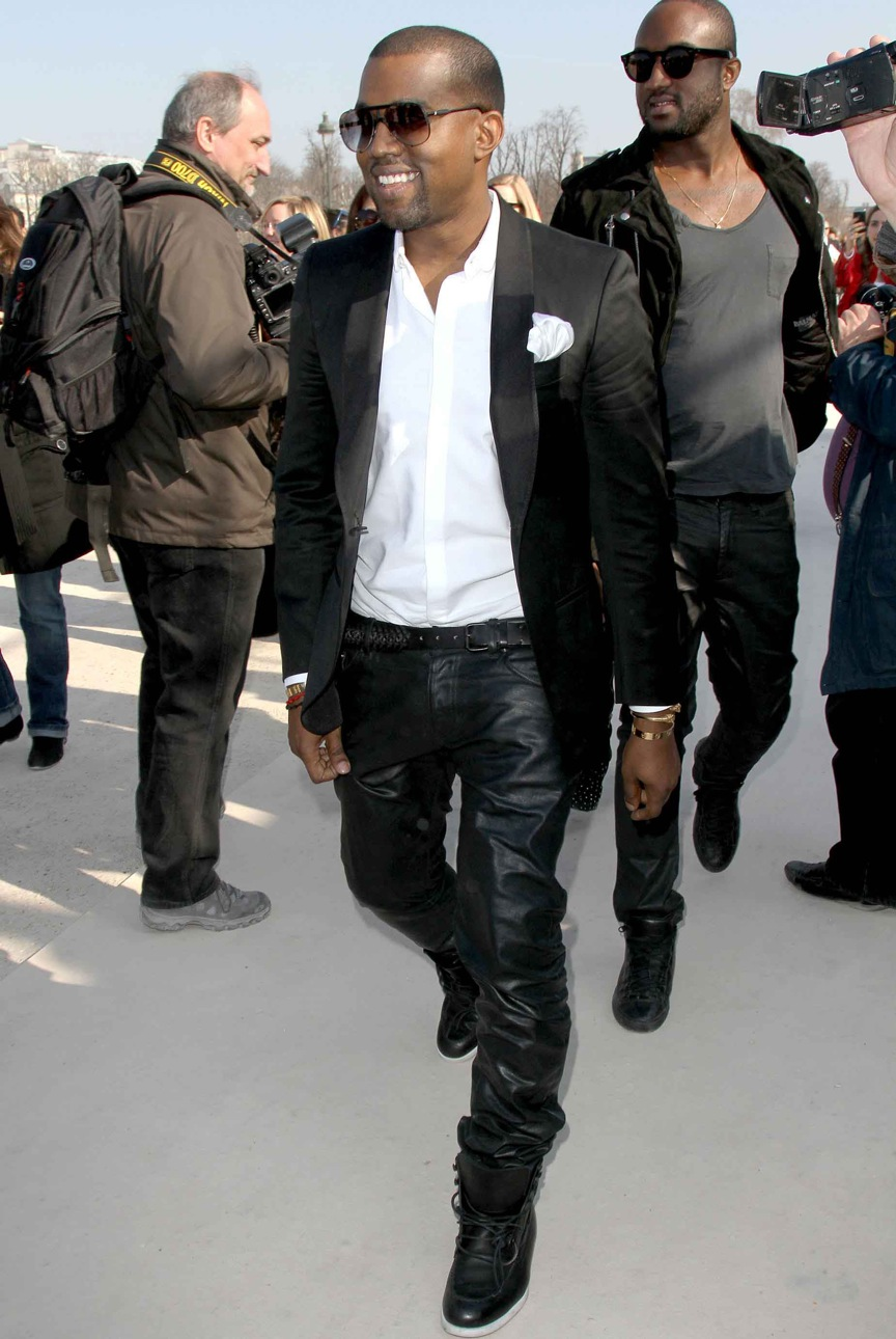 Leather Pants For Men Kanye West images